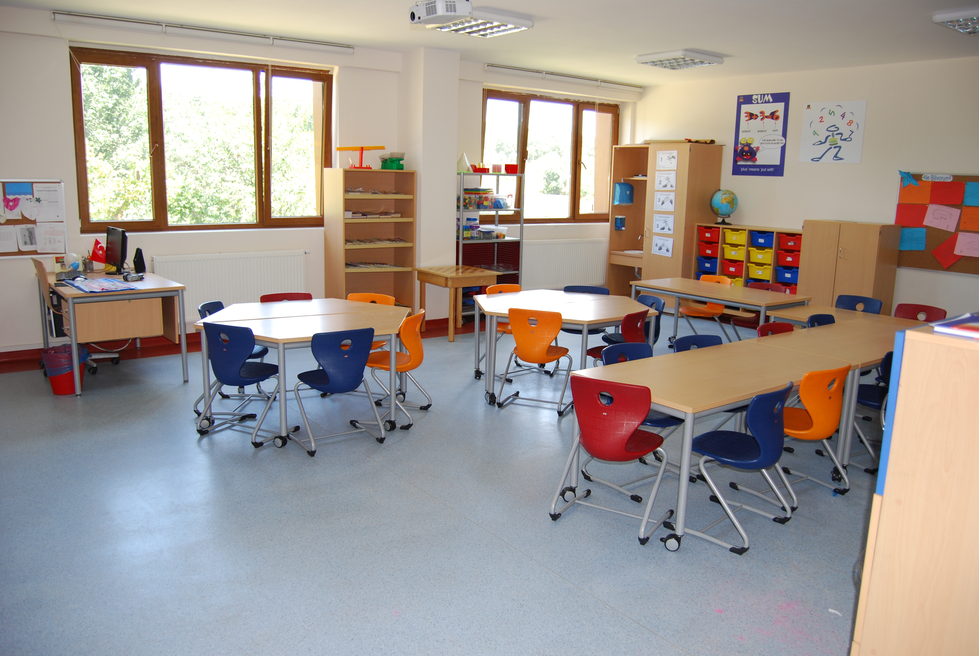Okul Masa & Sandalyeleri